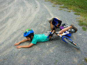bicycle accident 1